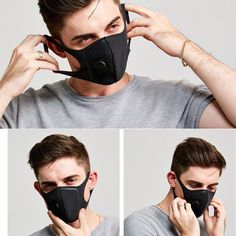 Waterproof Polyester Fiber Protective Mask With Breathing Valve Built-InExhalation Valves Filtered Air Mask 1 PcsModel Number: other Disposable Gloves, Paper Mask, Pollen Allergies, Protective Mask, Full Face Mask, Mouth Mask, Living A Healthy Life, Wholesale Shoes, Air Filter