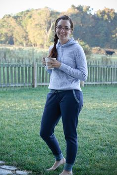 True Bias Hudson Pants | Radiant Home Studio - stylish sweatpants sewing pattern - comfortable and perfect for mom's!