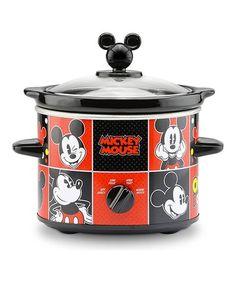 Another Great Find On #zulily! Disney Mickey Slow Cooker #zulilyfinds Disney  Kitchen,