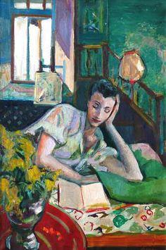 em tantas palavras ...: Sábado Salon: A pintura favorita ou dois ..... ou três! Mulheres que lêem por Vários Artistas