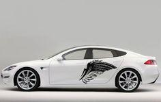 CAR SIDE VINYL DECAL ART STICKER GRAPHICS BIRD WING JK81 #Stickalz