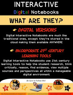 Interactive Digital Notebooks: Paperless, Colorful, and Media Rich