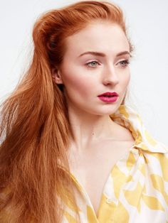 Sophie Turner poses for InStyle Magazine (US) - March 2015 Photoshoot