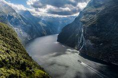 Geirangerfjord - Norway  #landscape #geirangerfjord #norway #photography