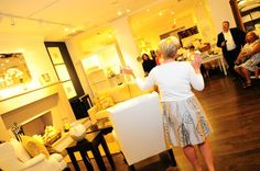 Pottery Barn Event-Our audience participation competitions are fun while teaching everyone the art of home staging.