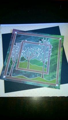 Men's Cards, Paper Cards, Parchment Design, Parchment Cards, Card Patterns, Border Design, Masculine Cards, Clarity, Minions