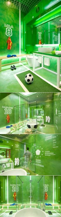 10 Boys Soccer Room Ideas!  From paint to decor, to furniture!