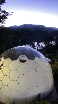 Geodesic Dome Homes, Dome Tent, Dome House, Fantasy House, Ocean Waves, Building Design, Playground, Construction, House Design