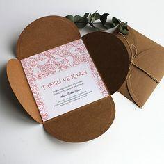 Flowerish - Çiçekli Düğün Davetiyesi - Tasarım: © Dört Köşe Davetiye