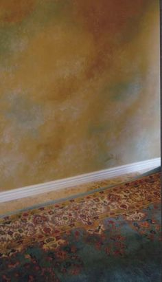 Multi-Color Faux Finish, great for Susan's office