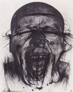Artist page for Arnulf Rainer (born Arnulf Rainer, A Level Art, Illustration, Gcse Art, High Art, Life Drawing, Art Sketchbook, Portrait Art, Figurative Art