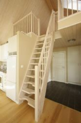 steep ladder/stairs