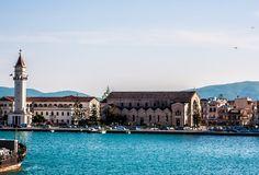 Zante port, Saint Dionysius church.   Greece