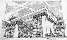 Croquis A Todo Nivel Tecnicas De Representacion Lapiz Y Boligrafo Dibujo Arquitectonico Boceto Arquitectonico Arquitectura