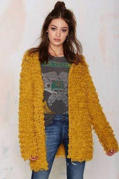 Knitz by For Love & Lemons Joplin Knit Cardigan | Shop Clothes at Nasty Gal!