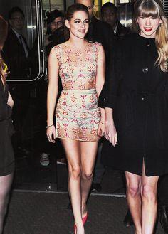 Kristen Stewart and Taylor Swift x