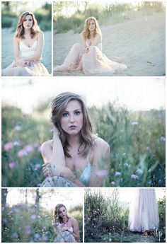 Outdoor Senior Pic Idea! Styled shoot - Hairstyle - Loose Curls - Makeup…