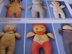 4pg Mawaphil Nelke Stockinet Crib Doll MAGAZINE ARticle / Jean Grout  b1
