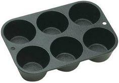 Lodge Logic, Seasoned Cast Iron Cookware Muffin/Cornbread Pan