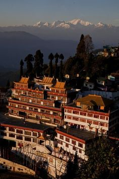 Monastery at Ghoom, Darjeeling, India.