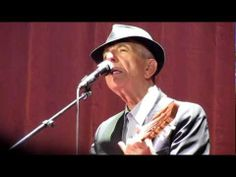Leonard Cohen - The Guests [Live in Madrid on his Old Ideas world tour on October 5, 2012]