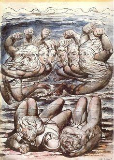 William Blake, Inferno, Canto VII,Divina Commedia