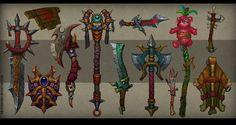 Weapons concept 04 by FirstKeeper.deviantart.com on @deviantART
