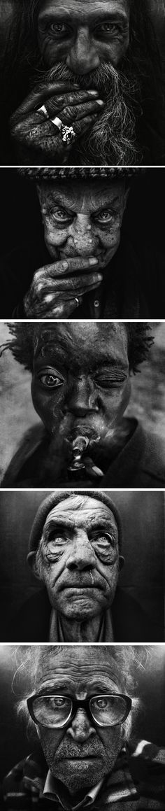 I love the drama in Lee Jeffries  images and all the emotion they portray! http://youtu.be/87hV3bGZBkA