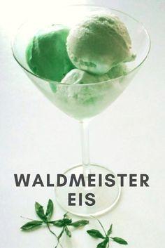 Cremiges Sahne Eis mit natürlichem Waldmeister-Geschmack
