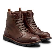 Mens Brown Combat Boots, Brown Leather Boots, Brown Boots, Motorcycle Riding Gear, Leather Motorcycle Boots, Belstaff Boots, Rider Boots, Men's Boots, Stylish Boots