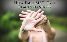 Find out what causes stress for each Myers-Briggs personality type, and learn how each type responds differently. Also find ways to prevent and fix stress! Mbti, Myers Briggs Personalities, Myers Briggs Personality Types, Introvert Personality, What Causes Stress, Highly Sensitive, Sensitive People, Enfp, Social Anxiety