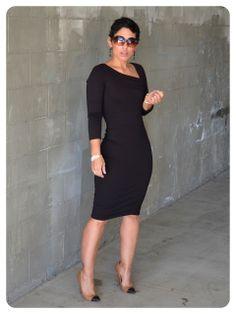 OOTD: DIY VaVaVoom Dress   Pattern Review Vogue 8787
