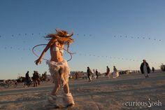 Burning Man #festival #desert #hulahoop