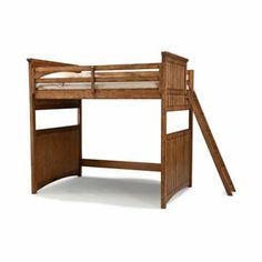 Timber Lodge Basic Loft Bed - Loft Beds at Hayneedle