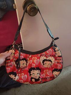 Betty Boop Shoulder Bag on Mercari Mini Purse, Mini Bag, Betty Boop, My Bags, Purses And Bags, Aesthetic Bags, Cute Purses, Cute Bags, Vintage Bags