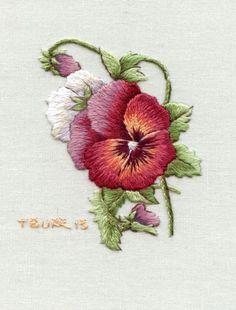 Victorian Pansies