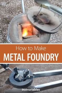How to Make the Simplest Metal Foundry: How to make a metal foundry that works with gas. More than This design I think is a well balanced price/resistant/workforce. Own design inspired by and burner inspired by the