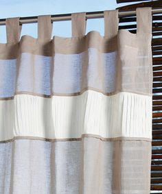 Take a look at this Gray Gravity Curtain Panel by Tuscan Accents on #zulily today!