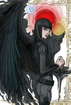 """More feather-wing-shadow-dagger stuff just to keep my mind at peace. (""""Nevernight"""" by Jay Kristoff)"""