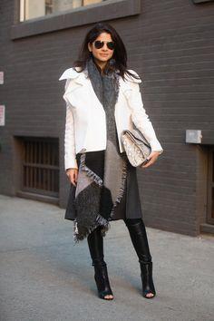 NYFW Street Style | Harper's Bazaar
