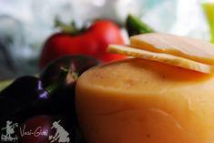 Cum se face caşcavalul de casă II Homemade Cheese, Mayonnaise, Cantaloupe, Panna Cotta, Pudding, Fruit, Ethnic Recipes, Desserts, Food