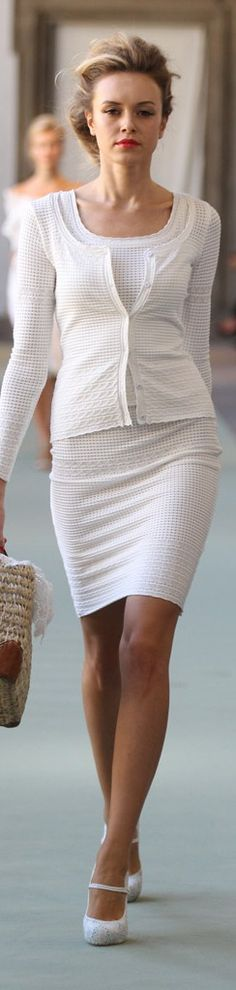 Luisa Beccaria - All White