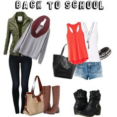 """""""Back to School: Emily Fields Inspired"""" by fashionbrownies on Polyvore"""