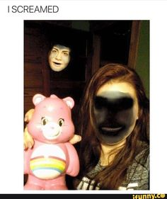 What if every time it face swapped you with a random spot in the room is because there was a ghost there.