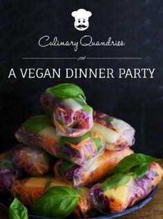 A Vegan Dinner Party (Culinary Quandaries) by Allyson Kramer, http://www.amazon.com/dp/B00KGSKT8O/ref=cm_sw_r_pi_dp_065Ftb1CK9RM6