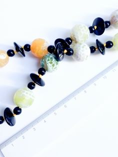 JP in Colour. Timeless Elegance, Statement Necklaces, Beautiful Necklaces, Agate, Beaded Bracelets, Deep, Colour, Elegant, Yellow