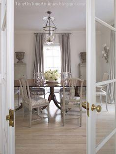 Tone on Tone: Swedish Style Light Floors bleached vs painted white floors
