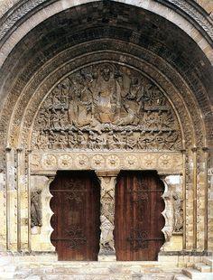 portico de la abadia de san pedro de moissac - Buscar con Google