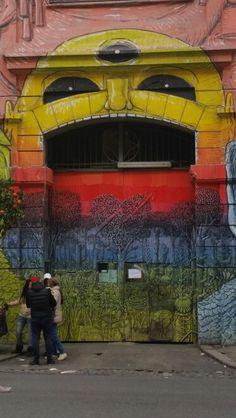 Street Art Gazometro near the Girasolereale City Holiday Apartment #streetartrome #gazometro #gazometroroma