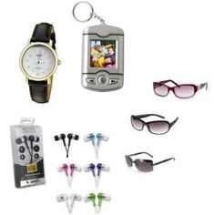 86% off Womens Stocking Stuffer Box  With Watch, Digital Photo Keychain, 3 Pair Sunglasses, Noise Isolation Headphones. Retail: $145.00 Now: $19.99
